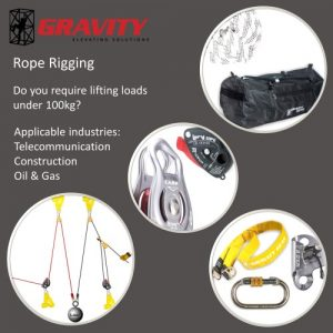 Rope Rigging Kit 3:1 – Ground Control (Max 100 kg)