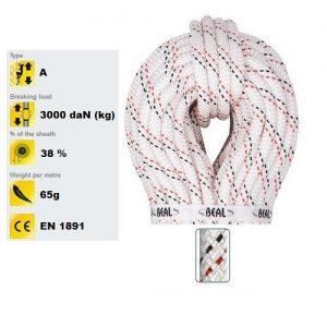 Beal Antipode 10.5mm Semi-Static Rope